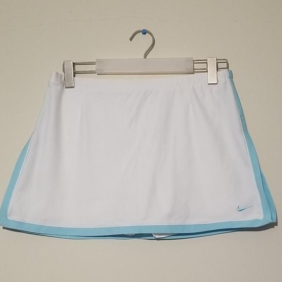 Nike drifit border tennis skirt, M